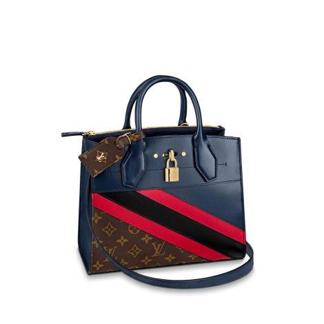 Louis Vuitton Çanta City Mavi - Louis Vuitton Canta 19 City Steamer Pm Mavi
