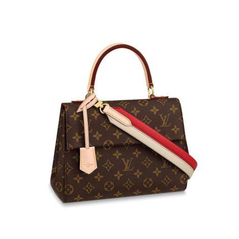Louis Vuitton Çanta Cluny Kahverengi - Louis Vuitton Canta 19 Cluny Bb Monogram Kahverengi