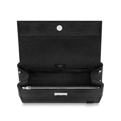 Louis Vuitton Çanta Cluny Siyah - Louis Vuitton Canta 19 Cluny Mm Epi Noir Siyah