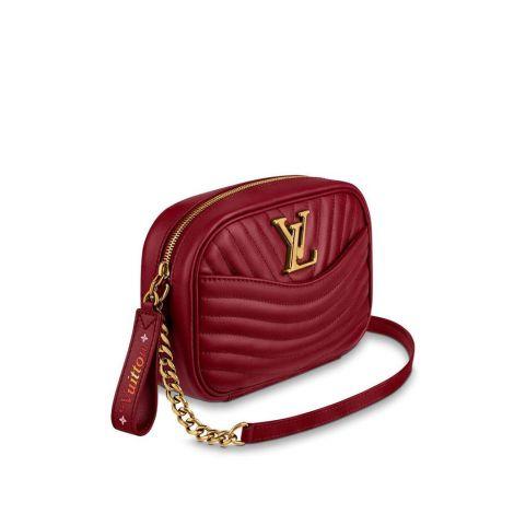 Louis Vuitton Çanta New Wave Kırmızı - Louis Vuitton Canta 19 New Wave Camera Bag Cherry Berry Kirmizi