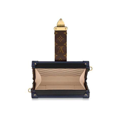 Louis Vuitton Çanta Petite Mavi - Louis Vuitton Canta 19 Petite Malle Mavi
