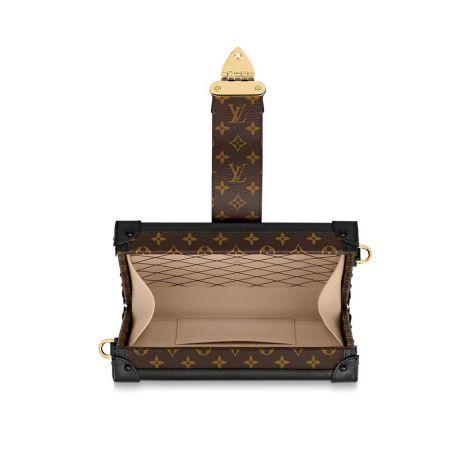 Louis Vuitton Çanta Petite Siyah - Louis Vuitton Canta 19 Petite Malle Siyah