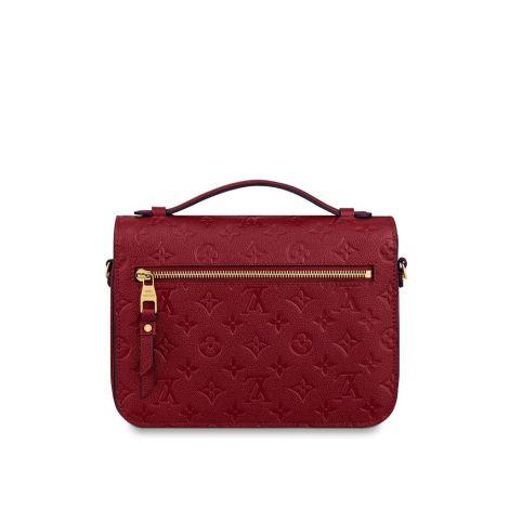 Louis Vuitton Çanta Pochette Kırmızı - Louis Vuitton Canta 19 Pochette Metis Monogram Kirmizi