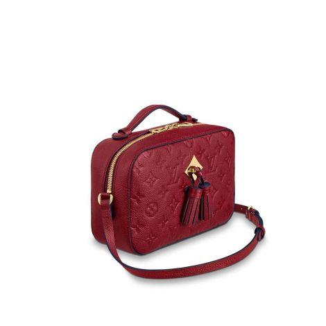 Louis Vuitton Çanta Saintonge Kırmızı - Louis Vuitton Canta 19 Saintonge Monogram Cb Kirmizi