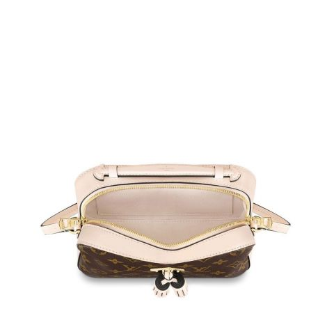 Louis Vuitton Çanta Saintonge Krem - Louis Vuitton Canta 19 Saintonge Monogram Creme Krem