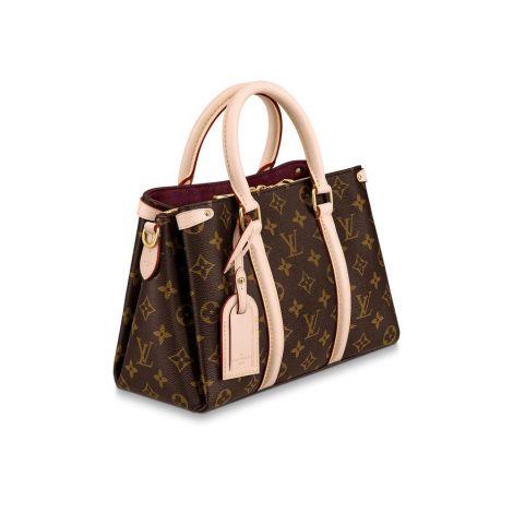 Louis Vuitton Çanta Soufflot Kahverengi - Louis Vuitton Canta 19 Soufflot Bb Monogram Kahverengi