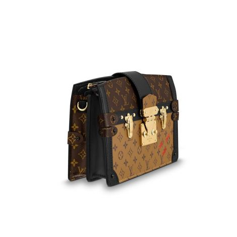 Louis Vuitton Çanta Trunk Siyah - Louis Vuitton Canta 19 Trunk Clutch Monogram Canvas Siyah