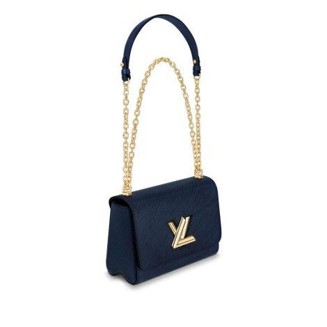 Louis Vuitton Çanta Twist Lacivert - Louis Vuitton Canta 19 Twist Mm Epi Indigo Lacivert