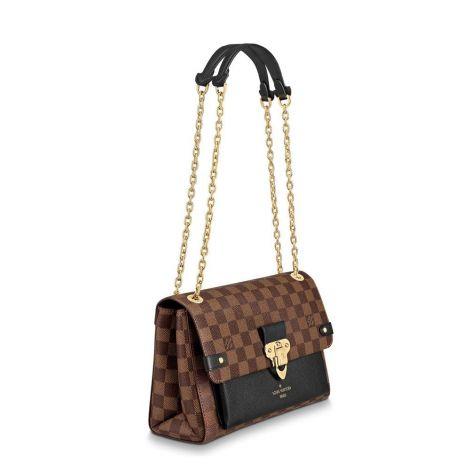 Louis Vuitton Çanta Vavin Siyah - Louis Vuitton Canta 19 Vavin Pm Damier Ebene Noir Siyah