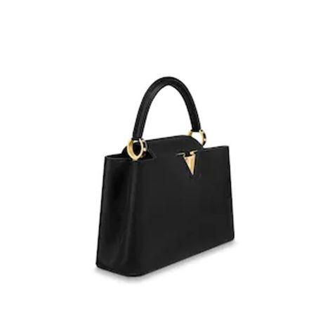 Louis Vuitton Çanta Capucines Siyah - Louis Vuitton Canta Lvc Capucines Pm Taurillon Siyah