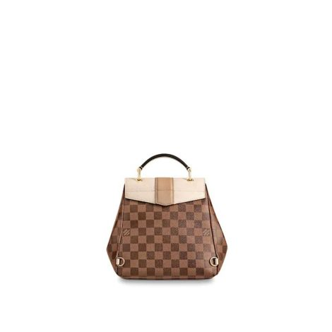 Louis Vuitton Çanta Clapton Kahverengi - Louis Vuitton Canta Lvc Clapton Backpack Damier Ebene Kahverengi