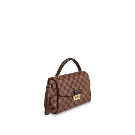 Louis Vuitton Çanta Croisette Kahverengi - Louis Vuitton Canta Lvc Croisette Damier Ebene Kahverengi