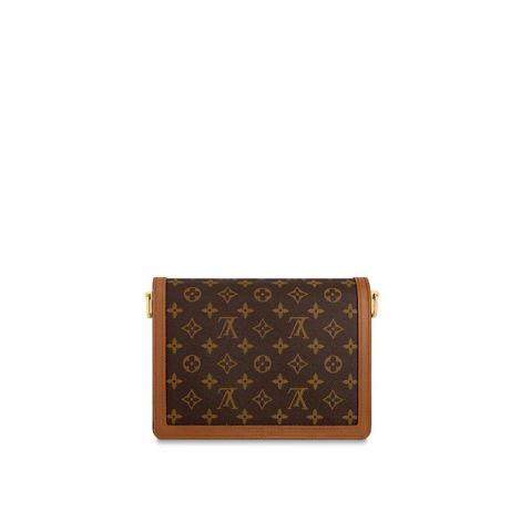 Louis Vuitton Çanta Dauphine Kahverengi - Louis Vuitton Canta Lvc Dauphine Mm Monogram Kahverengi
