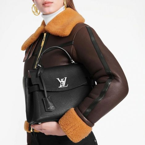 Louis Vuitton Çanta Lockme Siyah - Louis Vuitton Canta Lvc Lockme Ever Bb Lockme Siyah
