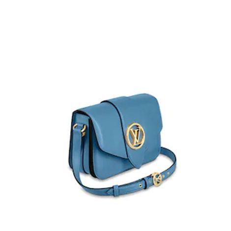 Louis Vuitton Çanta LV Pont 9 Mavi - Louis Vuitton Canta Lvc Lv Pont 9 Other Leathers Blue