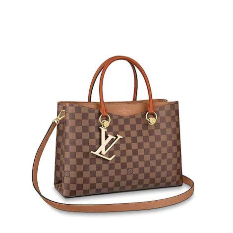 Louis Vuitton Çanta Riverside Bej - Louis Vuitton Canta Lvc Lv Riverside Damier Ebene Bej