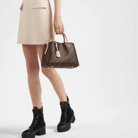 Louis Vuitton Çanta Montaigne Kahverengi - Louis Vuitton Canta Lvc Montaigne Bb Monogram Kahverengi