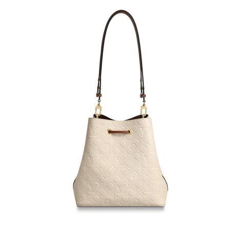 Louis Vuitton Çanta Neonoe Beyaz - Louis Vuitton Canta Lvc Neonoe Mm Empreinte Leather Beyaz