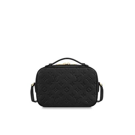 Louis Vuitton Çanta Saintonge Siyah - Louis Vuitton Canta Lvc Saintonge Monogram Empreinte Siyah