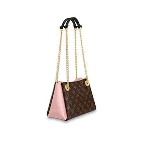 Louis Vuitton Çanta Surene Pembe - Louis Vuitton Canta Lvc Surene Bb Monogram Rose Kahverengi Pembe