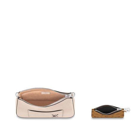 Louis Vuitton Çanta Marelle Pembe - Louis Vuitton Canta Marelle Bag Epi Quartz Pembe