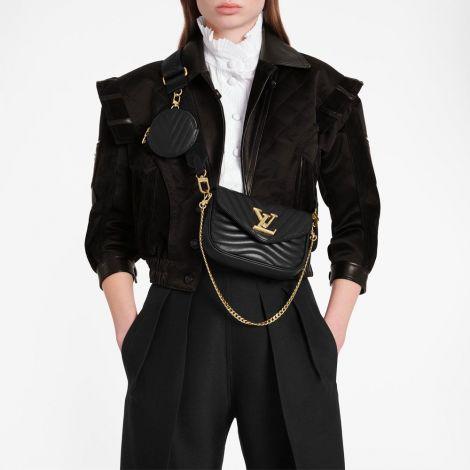 Louis Vuitton Çanta New Wave Siyah - Louis Vuitton Canta New Wave Multi Pochette New Wave Handbags Siyah
