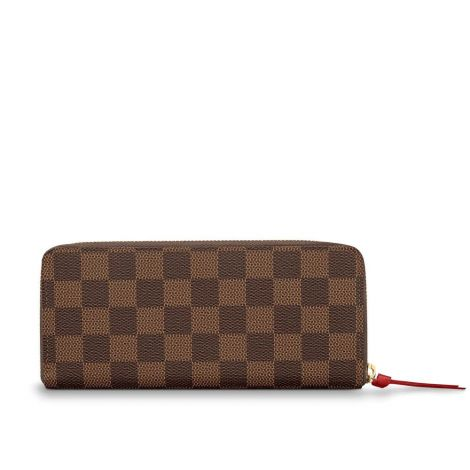 Louis Vuitton Cüzdan Clemence Siyah - Louis Vuitton Cuzdan 19 Clemence Wallet Damier Ebene Kahverengi