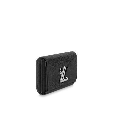 Louis Vuitton Cüzdan Twist Siyah - Louis Vuitton Cuzdan 19 Twist Wallet Epi Noir Siyah