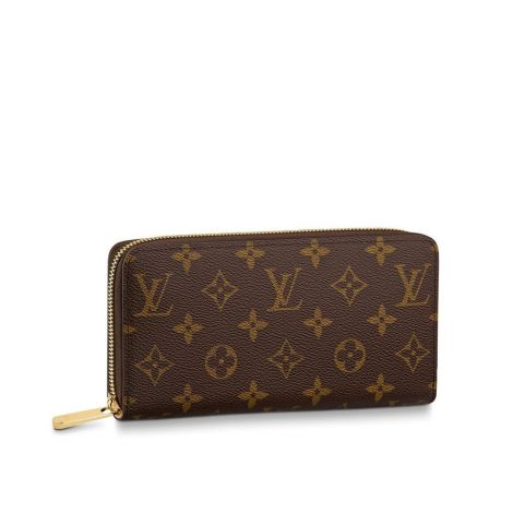 Louis Vuitton Cüzdan Zippy Kahverengi - Louis Vuitton Cuzdan 19 Zippy Wallet Monogram Kahverengi