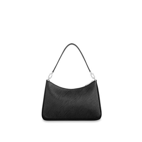 Louis Vuitton Çanta Marelle Siyah - Lv Canta 2021 Kadin Marelle Bag Epi Black Siyah