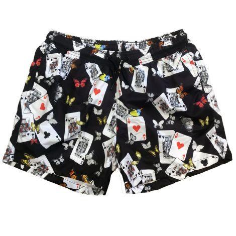 Dolce Gabbana Mayo Şort Poker Siyah #Outlet #Mayo Şort #OutletMayo Şort #Erkek #OutletPoker #Poker