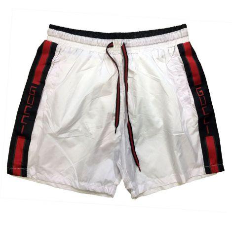 Gucci Mayo Şort Stripe Beyaz #Outlet #Mayo Şort #OutletMayo Şort #Erkek #OutletStripe #Stripe