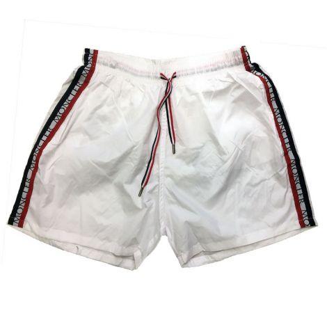 Moncler Mayo Şort Stripe Beyaz #Outlet #Mayo Şort #OutletMayo Şort #Erkek #OutletStripe #Stripe