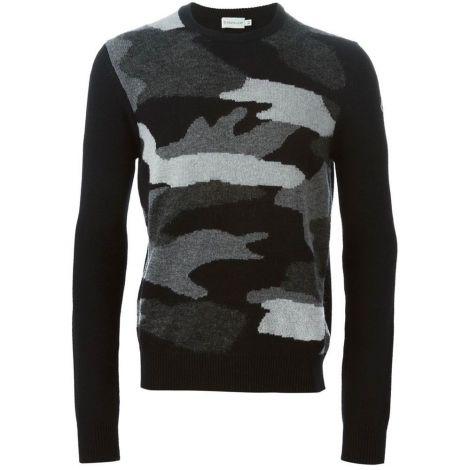 Moncler Kazak Camouflage Siyah #Moncler #Kazak #MonclerKazak #Erkek #MonclerCamouflage #Camouflage