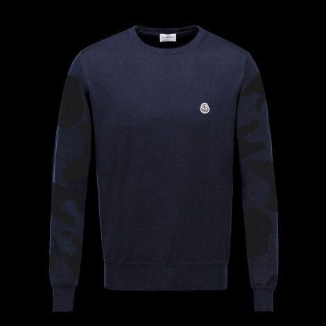 Moncler Sweatshirt Camouflage Lacivert #Moncler #Sweatshirt #MonclerSweatshirt #Erkek #MonclerCamouflage #Camouflage