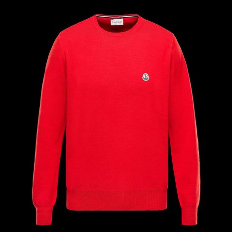 Moncler Sweatshirt Crewneck Kırmızı #Moncler #Sweatshirt #MonclerSweatshirt #Erkek #MonclerCrewneck #Crewneck