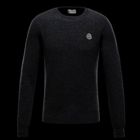 Moncler Sweatshirt Crewneck Gri #Moncler #Sweatshirt #MonclerSweatshirt #Erkek #MonclerCrewneck #Crewneck