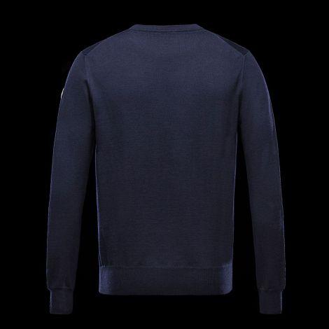 Moncler Sweatshirt Crewneck Mavi #Moncler #Sweatshirt #MonclerSweatshirt #Erkek #MonclerCrewneck #Crewneck