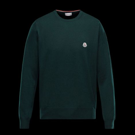 Moncler Sweatshirt Crewneck Yeşil #Moncler #Sweatshirt #MonclerSweatshirt #Erkek #MonclerCrewneck #Crewneck