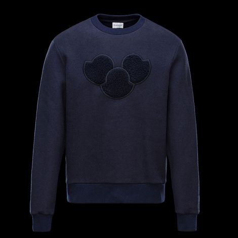 Moncler Sweatshirt Lacivert #Moncler #Sweatshirt #MonclerSweatshirt #Erkek #MonclerLogo #Logo