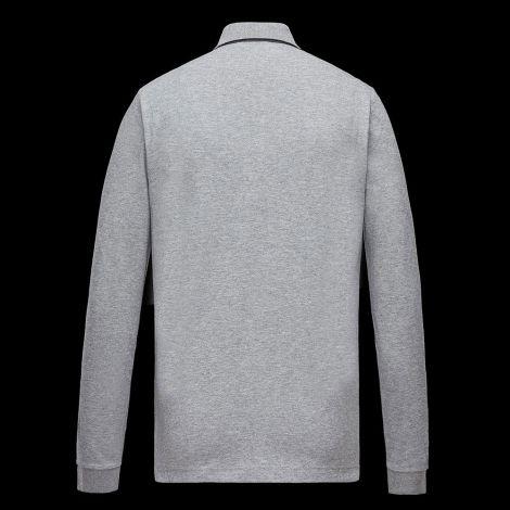 Moncler Sweatshirt Polo Gri #Moncler #Sweatshirt #MonclerSweatshirt #Erkek #MonclerPolo #Polo