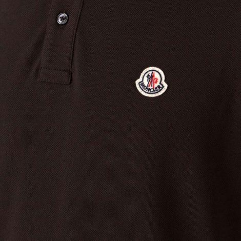 Moncler Sweatshirt Polo Kahverengi #Moncler #Sweatshirt #MonclerSweatshirt #Erkek #MonclerPolo #Polo