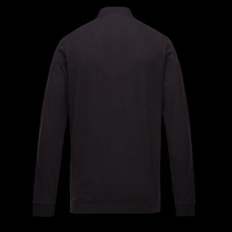 Moncler Sweatshirt Polo Siyah #Moncler #Sweatshirt #MonclerSweatshirt #Erkek #MonclerPolo #Polo