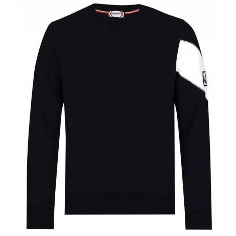 Moncler Sweatshirt Badge Siyah #Moncler #Sweatshirt #MonclerSweatshirt #Erkek #MonclerBadge #Badge