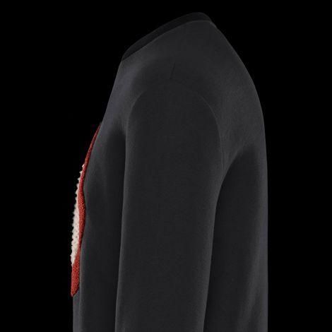 Moncler Sweatshirt Icon Siyah #Moncler #Sweatshirt #MonclerSweatshirt #Erkek #MonclerIcon #Icon