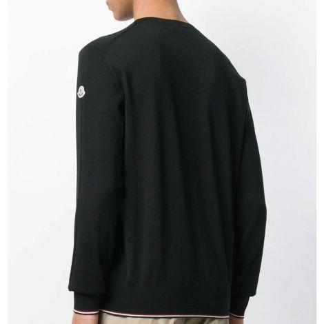 Moncler Sweater Logo Siyah #Moncler #Sweater #MonclerSweater #Erkek #MonclerLogo #Logo