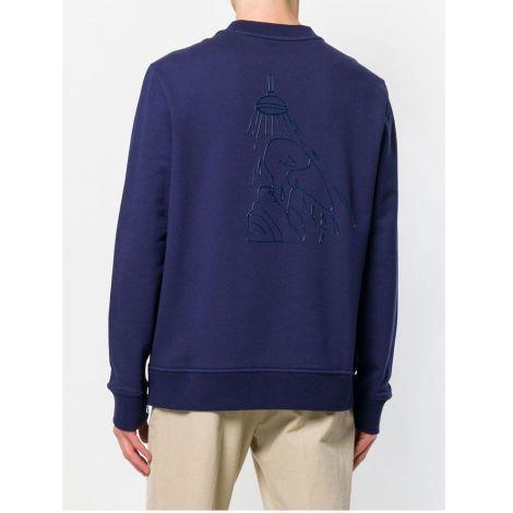 Moncler Sweatshirt Plaque Lacivert #Moncler #Sweatshirt #MonclerSweatshirt #Erkek #MonclerPlaque #Plaque