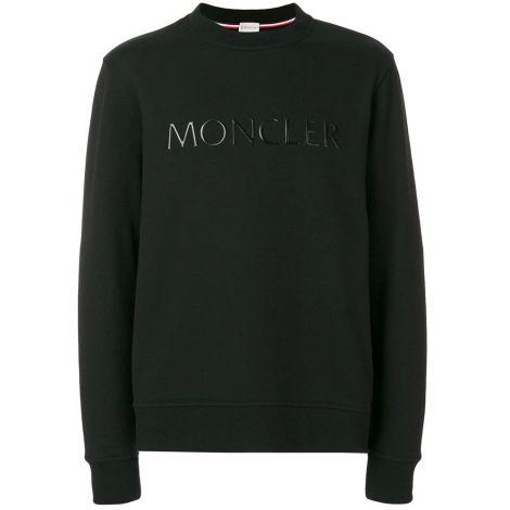 Moncler Sweatshirt Plaque Siyah #Moncler #Sweatshirt #MonclerSweatshirt #Erkek #MonclerPlaque #Plaque
