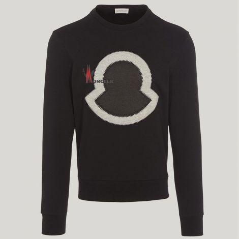 Moncler Sweatshirt Maglia Siyah #Moncler #Sweatshirt #MonclerSweatshirt #Erkek #MonclerMaglia #Maglia