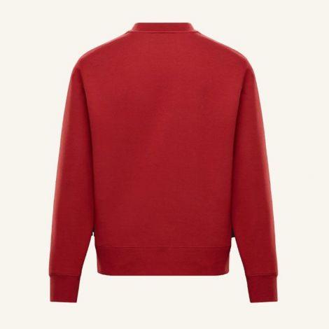 Moncler Sweatshirt Maglia Kırmızı #Moncler #Sweatshirt #MonclerSweatshirt #Erkek #MonclerMaglia #Maglia